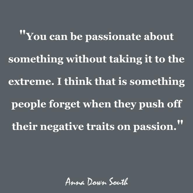 Passionate vs Extreme